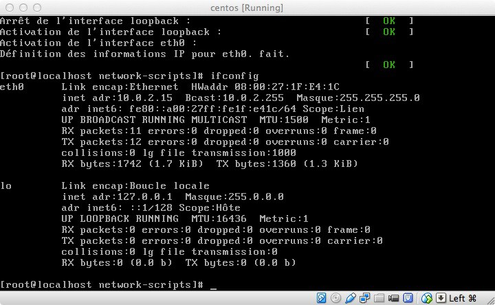 Tutorial: How to Install a Hadoop Cluster - service network restart
